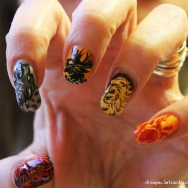 68 best character nails and pop art images on pinterest nail trends tv show nail art ig prinsesfo Choice Image