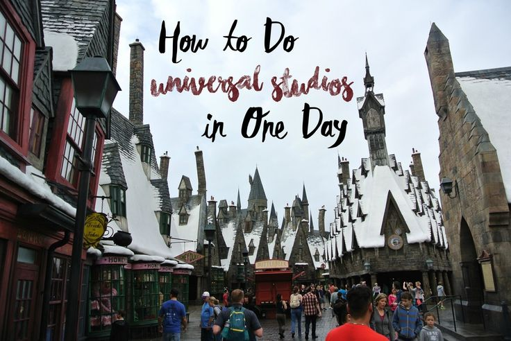There's a lot to do at Universal Studios Orlando, but if you only have one day to spend in the parks, here's how you can maximize your time and ride all the best rides in just one day.