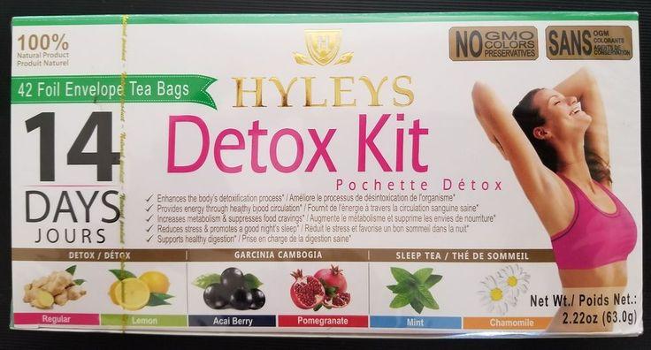 Hyleys DETOX KIT 14 Days Plan Tea  Foil Envelope 42 Tea Bags  http://bayfeeds.com/ebayitem.php?i=252910042308&u=858&f=488