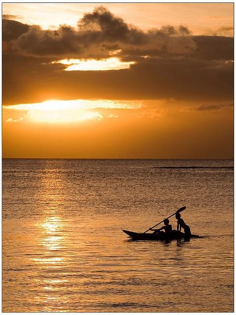 Dreamland Mauritius - Late evening at Trou aux Biches