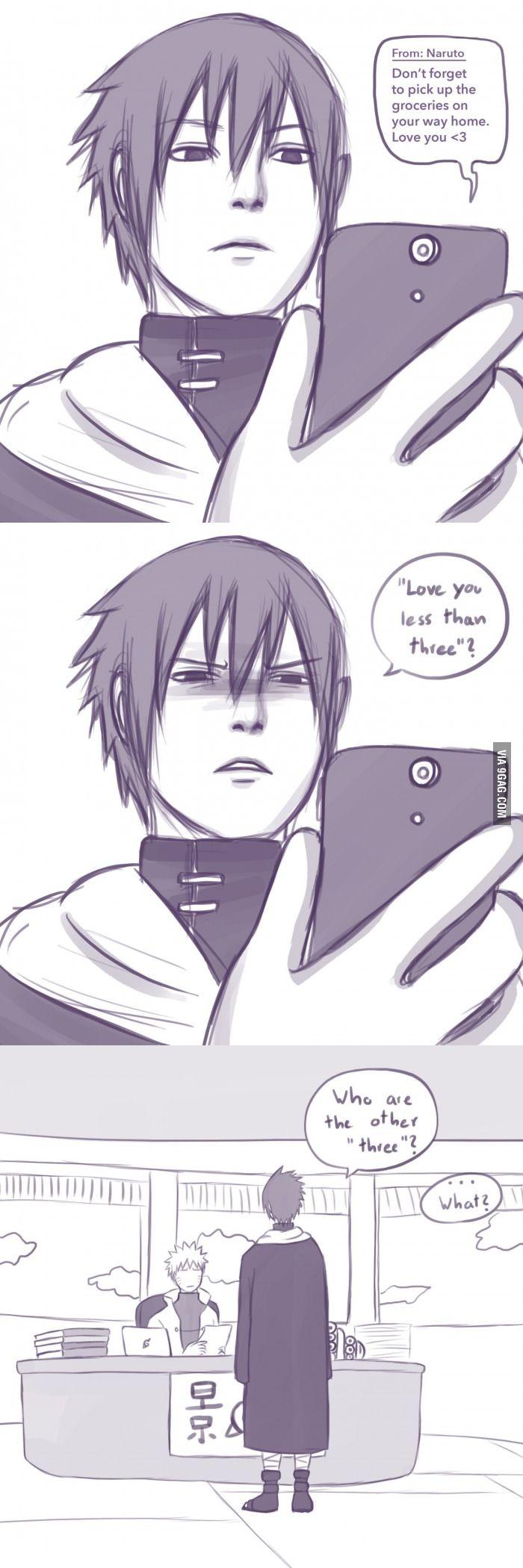 Sasuke is a simple man... - 9GAG