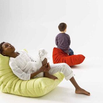 Ligne Roset at DX London - new edition of Togo sofa, fabrics & patterns.
