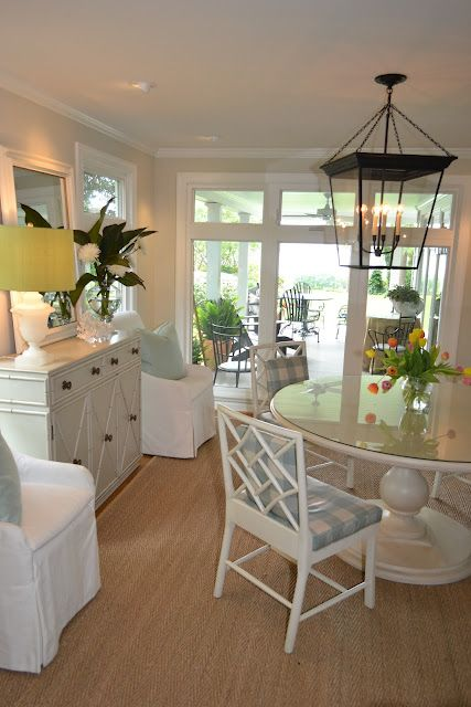 173 best coastal dining room ideas images on pinterest for Beach dining room ideas