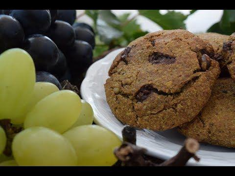 Πρωτεϊνικά Μπισκότα βρώμης με σταφύλι, σοκολάτα, καρύδια και κουρκουμά – enter2life.gr