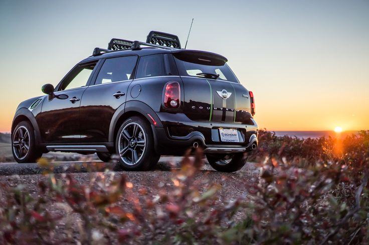 Schomp MINI Countryman at sunrise in #Denver, Colorado