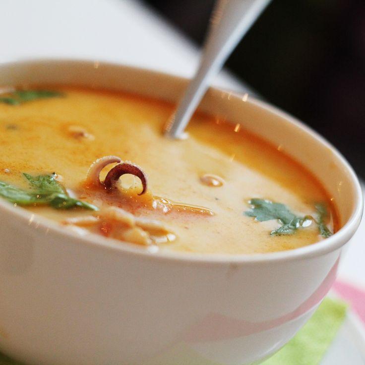 Středomořská polévka #soupinthecity #fusionhotel www.soupinthecity.cz