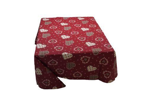 Nappe enduite glieres pour habiller la table de votre #cuisine #kitchen #tablecloth => available on line - Disponible en ligne