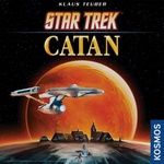 Settlers of Catan (one of the greatest boardgames of all time) Star Trek Edition. Yeah, for real.