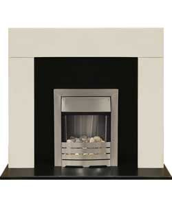 1000 ideas about electric fireplace suites on pinterest. Black Bedroom Furniture Sets. Home Design Ideas