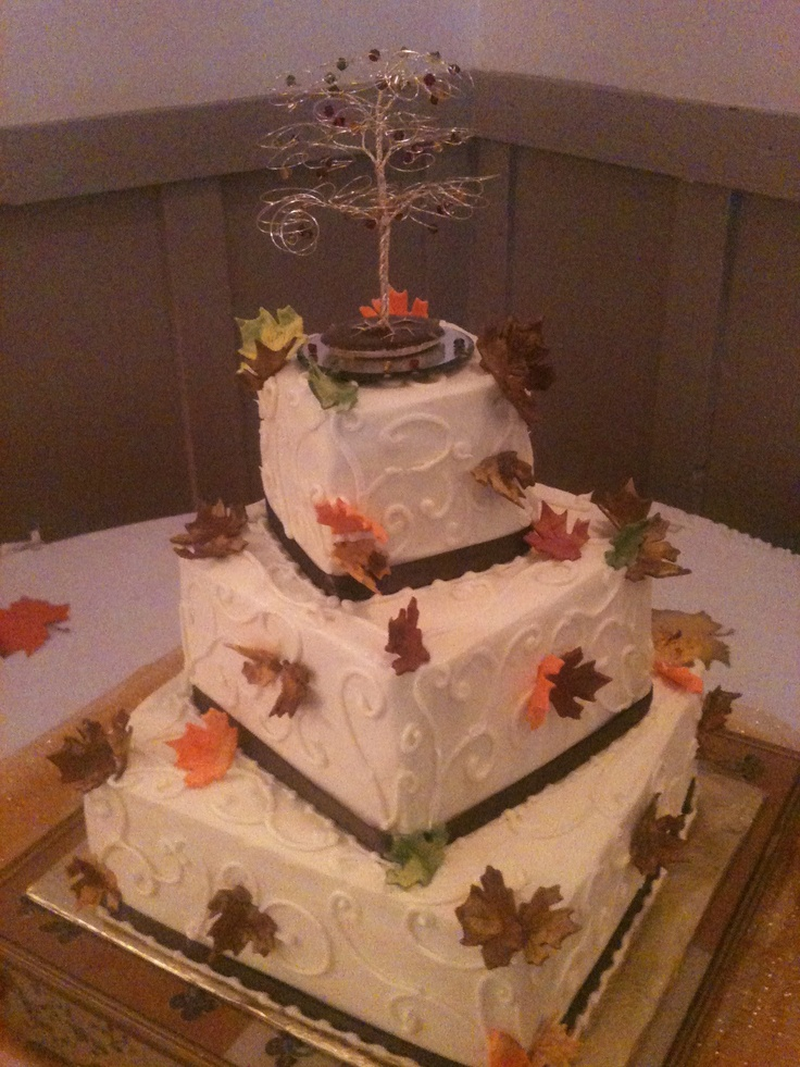 autumn square wedding cakes 17 best images about square wedding cakes on 10897