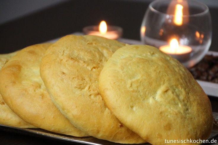 Khobz Tabuna (Tunesisches Fladen Brot)