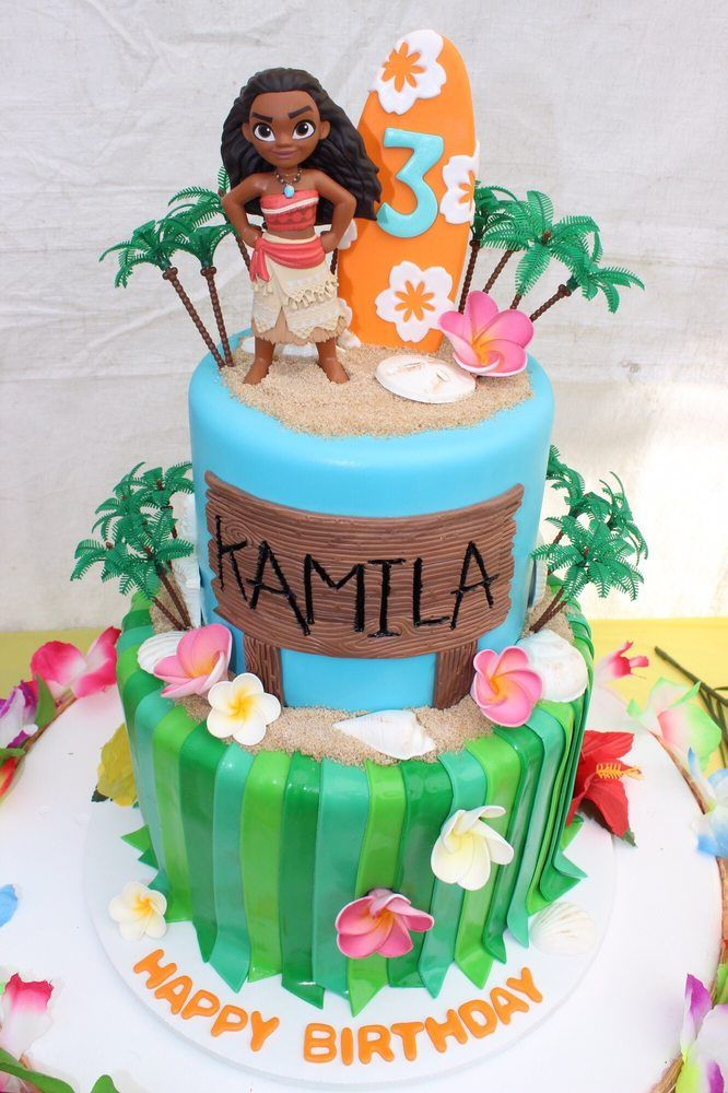Photo of Ele Makes Cakes - Los Angeles, CA, United States. Moana cake