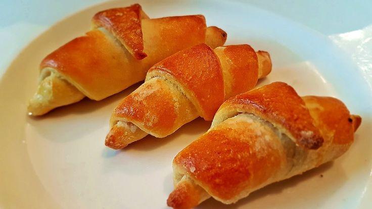 Soft Mini Croissant Recipe - Mekane Kiflice Recept