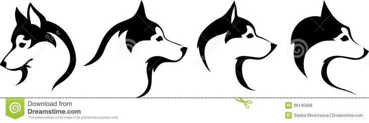 Huskies Head Royalty Free Stock Photos - Image: 36145068