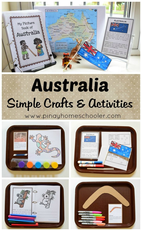 Australia Preschool Printables - Preschool Mom