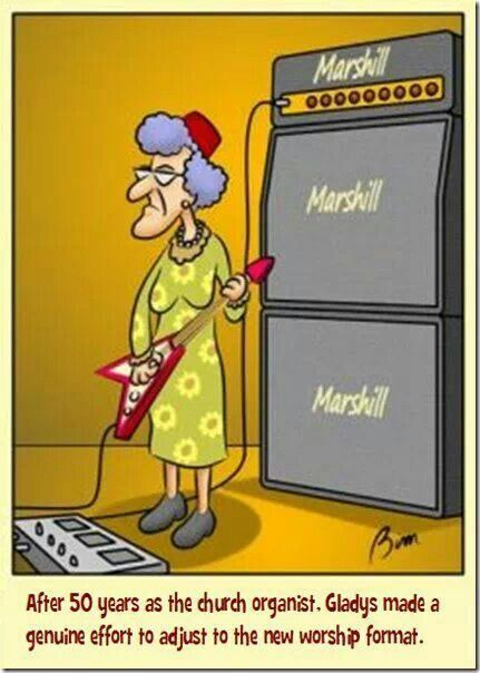 church humor music christian modern cartoons