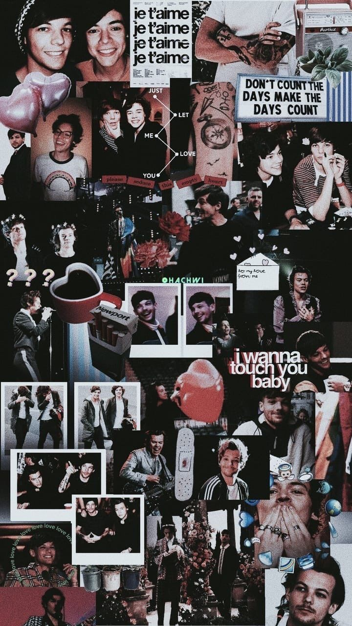 One Direction | ctto: @stylinsonphones Más | Fondo de ... |One Direction Collage Wallpaper