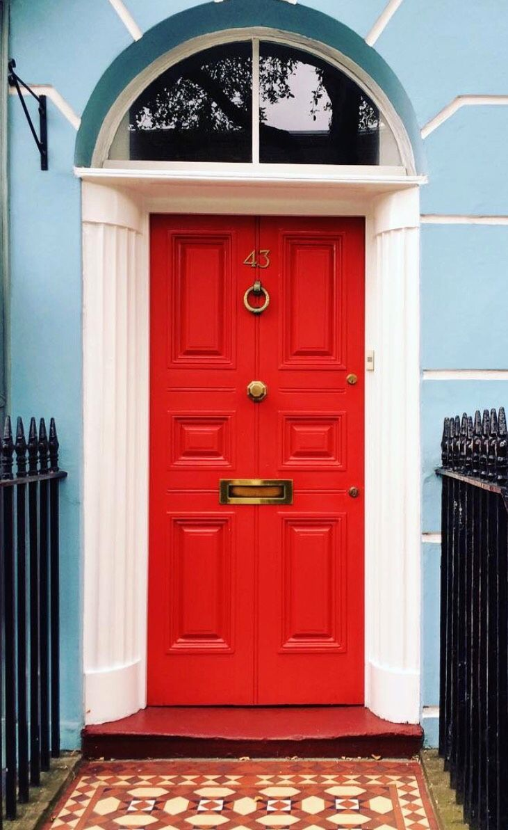 1000 Ideas About Exterior Door Colors On Pinterest