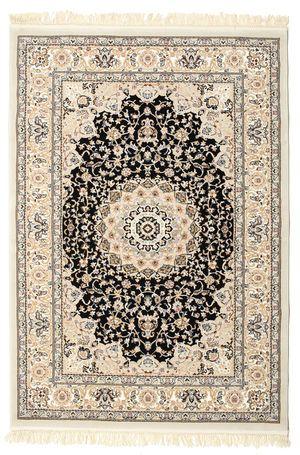 Dessa vackra maskinknutna mattor har motiv med tydlig inspiration från typiska persiska mattor. Det ger en matta som enkelt passar in i såväl det moderna som i det mer traditionellt inredda hemmet.