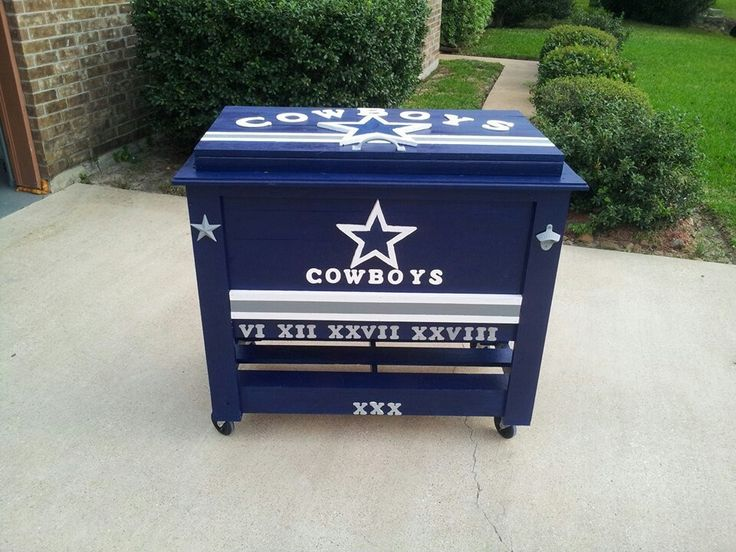 Dallas Cowboys ice chest