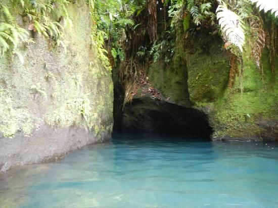 Roseau, Dominica: The entrance to Titou Gorge