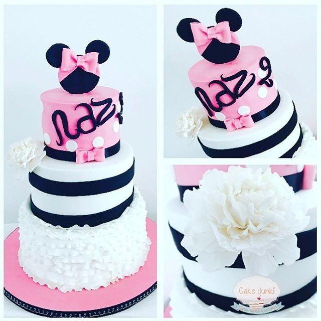 28 vind-ik-leuks, 2 reacties - CakeJunki (@cakejunki) op Instagram: 'Happy birthday Naz 🎉🎉🎉 # birthday #two #cake #fondant #heerhugowaard #alkmaar #bestellen #sugarart…'