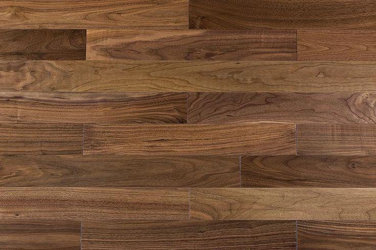 Engineered Hardwood Floors - Engineered Hardwood Narrow Board Collection Walnut Classic