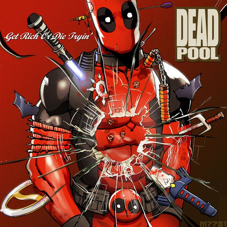 deadpool: get rich or die tryin' by m7781