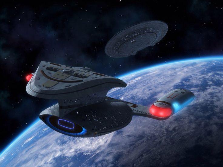 Saucer Separation – Star Trek USS Enterprise NCC-1701 D Galaxy Class                                                                                                                                                     Mehr