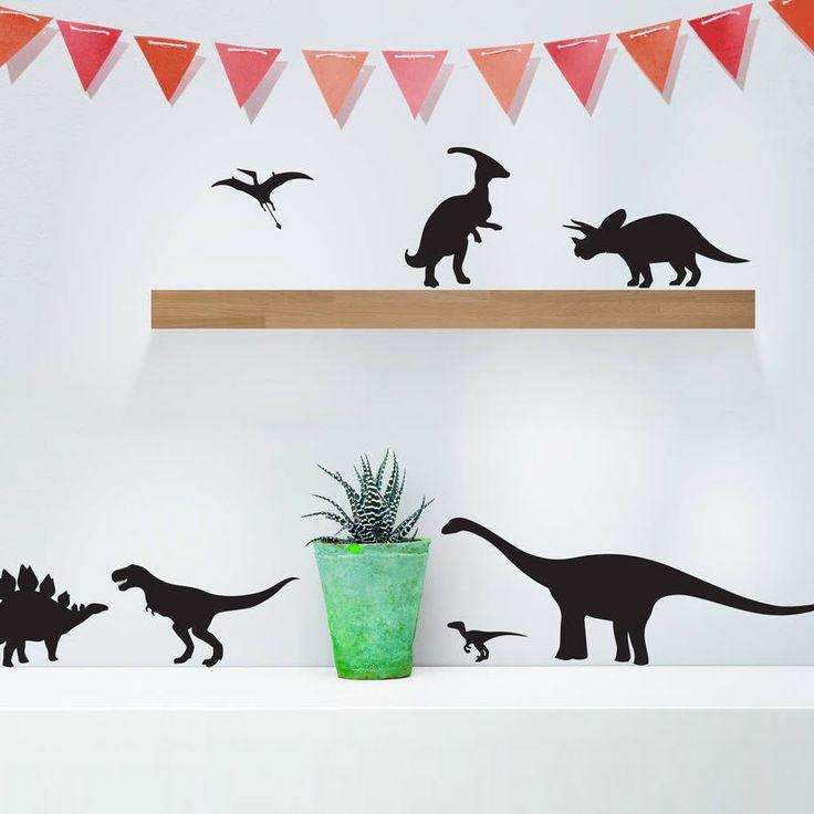 Th me dinosaure pour une chambre de gar on dinosaures - Deco chambre dinosaure ...