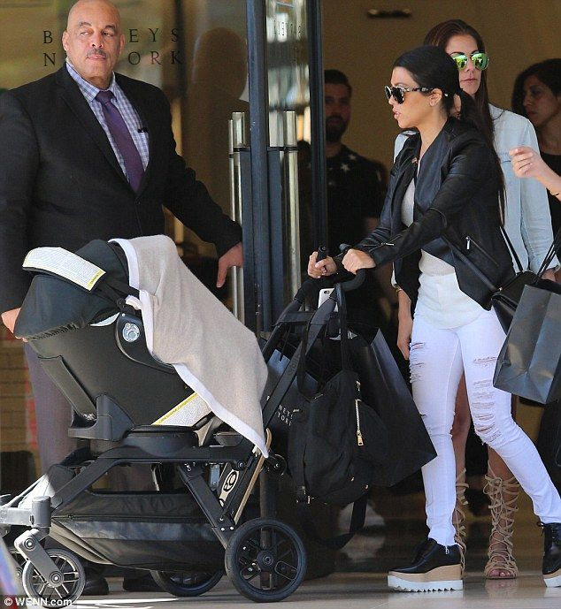 Kourtney Kardashian Stroller