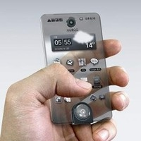 Cell phone made of Glass!