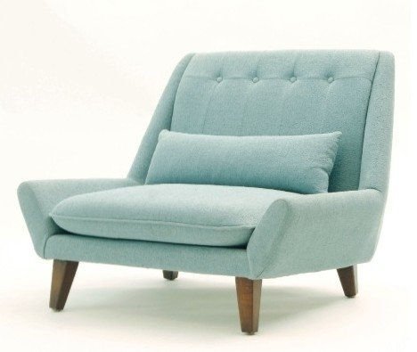 Art Deco Blue chair