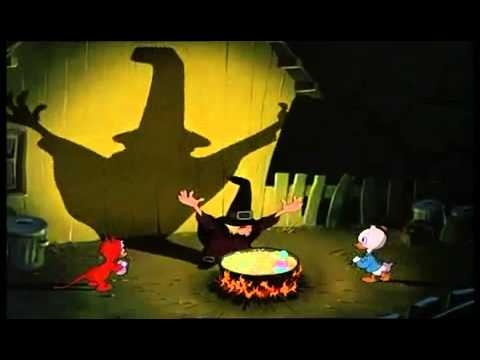 Walt Disney - Halloween Donald et la sorciere