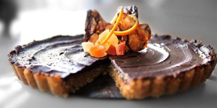 Sjokoladekake med karamell