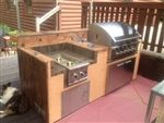 Build your own BBQ Island to save tons of money and have a custom look to match your back yard resort