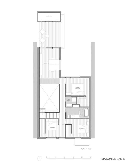 gallery of maison de gasp la shed architecture 17 - Plan Architecturale De Maison