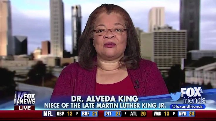 Dr. Alveda King (Martin Luther King Jr's Niece) Responds to the NYC Prot...