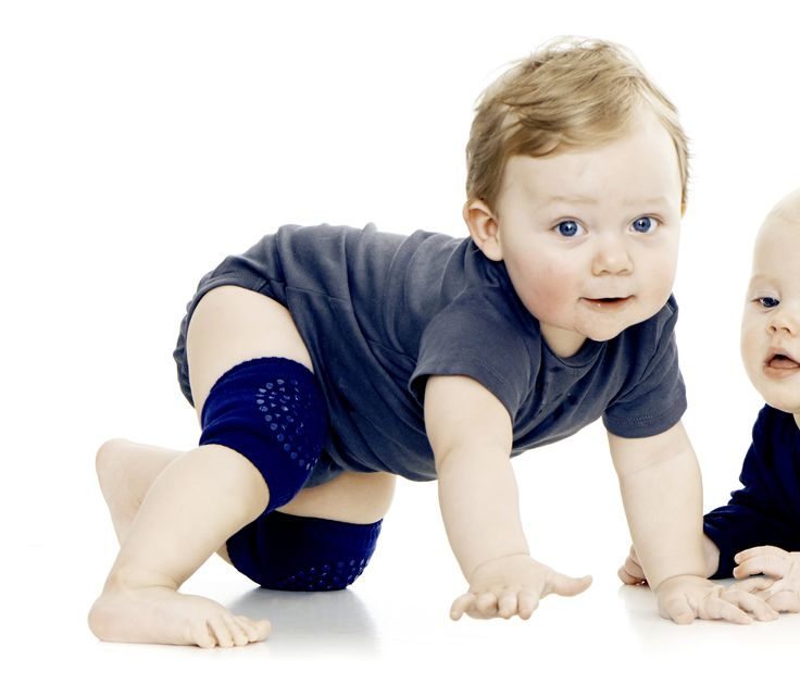 Baby kneepads with anti slip - good for all slibbery surfaces