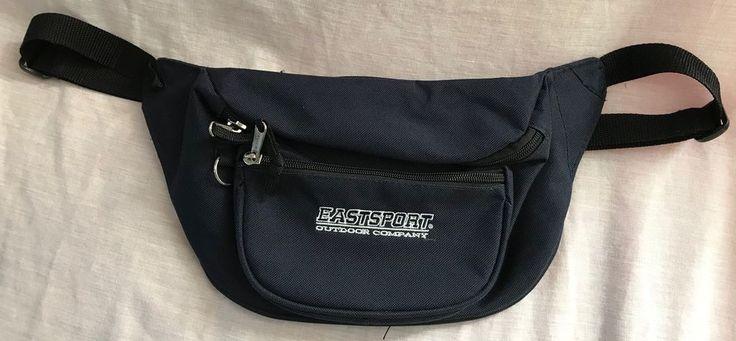 Eastsport Outdoor Company Fanny Pouch Waist Adjustable Belt Bag Dark Blue #Eastsport #FannyWaistPack