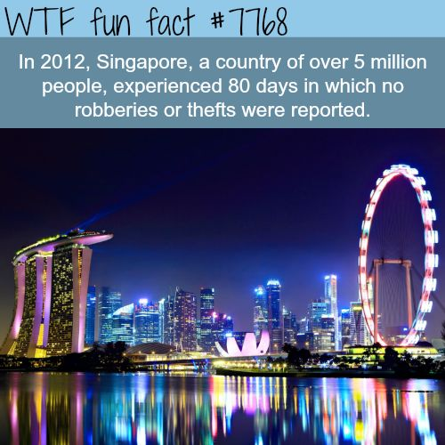 The safest countries in the world - WTF fun fact