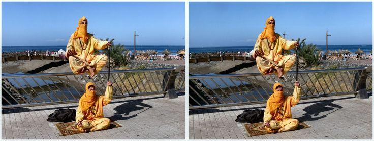 Tenerife levitation 3D 2017