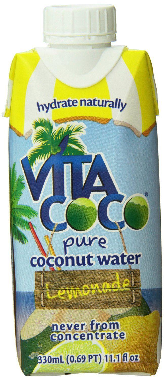 VITA COCO: Pure Coconut Water Lemonade, 330 ml