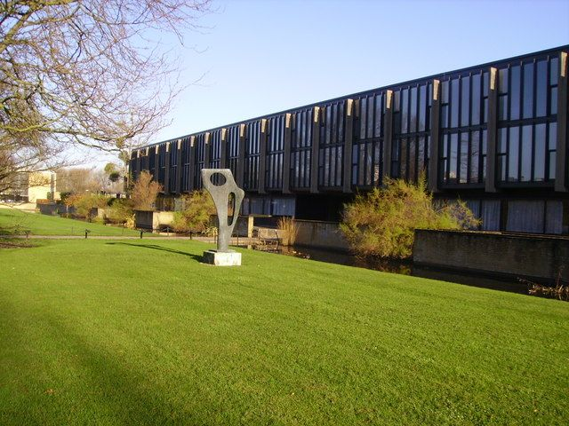 St Catherine's College, Oxford Designed by the Danish architect Arne Jacobsen in the 1960s, St Catherine's College is Grade I listed.