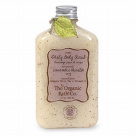 Body Scrub Honey Chai, 9oz 9 Ounces by Organic Bath. $3.40. 9 Ounces. Serving Size:. You'll love the clean you feel after using this whole body exfoliating scrub. Gentle enough to use on your face, effective enough to keep those dead skin cells from piling up and making your skin dry and dull. Made with pineapple enzymes, crushed apricot and strawberry seeds blended with rich jojoba oil and organic aloe vera gel.This natural exfoliating scrub is loaded with healthy antioxid...