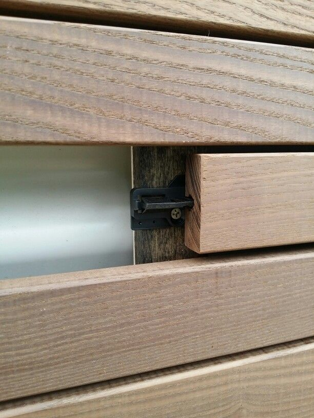 Smartdeck thermory 39 rapid click 39 architectural facade for Architectural wood siding