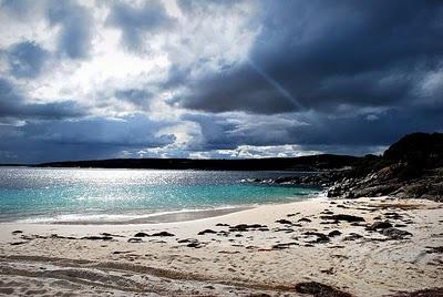 Beautiful beach around Bremer Bay at the bottom of Western Australia