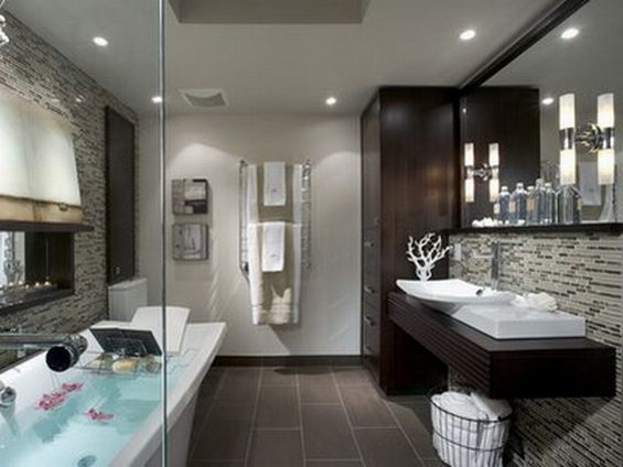 Gray Bathroom Ideas Interior Design ~ Cool bathrooms for home interiors decorating