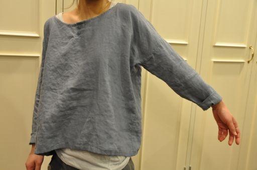 tunic shirt in linen