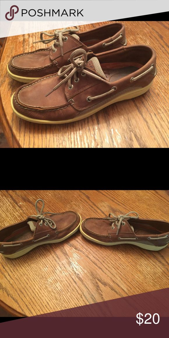 Men's Sperry Top-Sider Men's Speery Top-Sider, used and in good condition. Sperry Shoes Boat Shoes